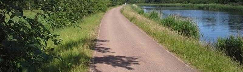 Ländlicher Weg Wegedecke