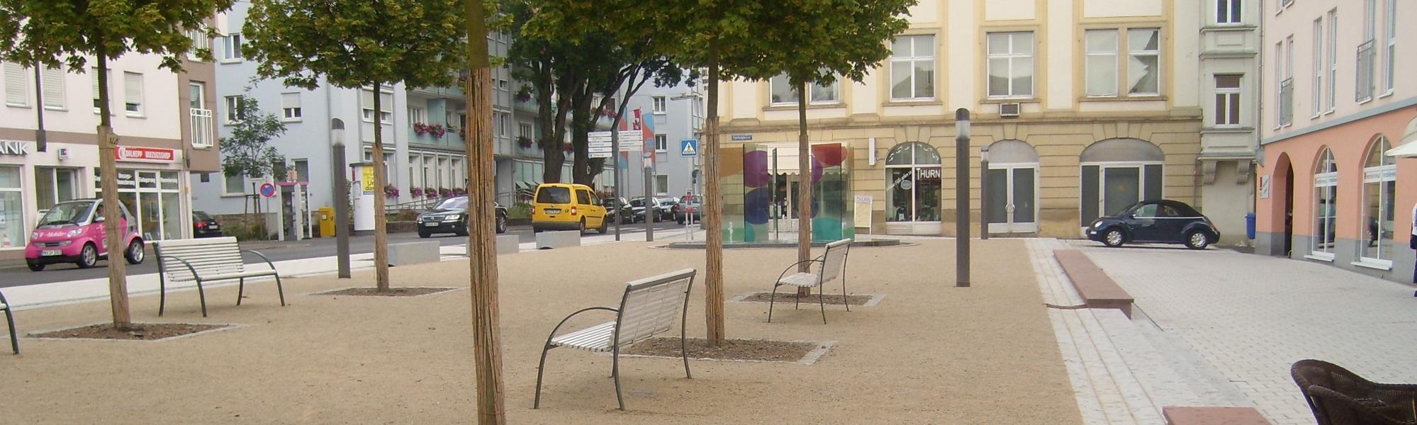 Platz Wegedecke